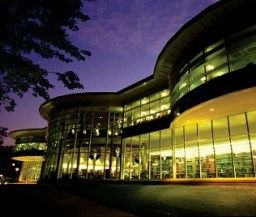 QU Library at night