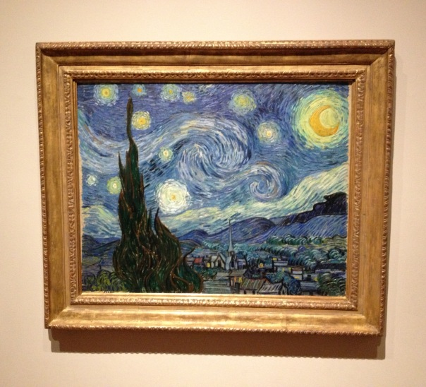 (Starry Night, Vincent van Gogh)